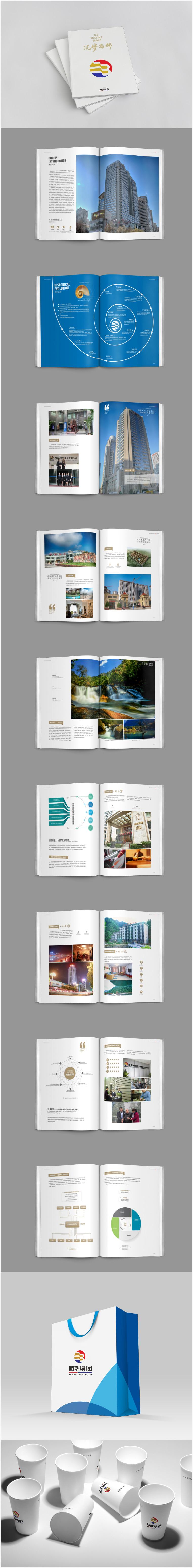 绿地soho同盟地址_西部集团画册 - 画册设计,宣传册设计,形象画册设计,周年庆典 ...